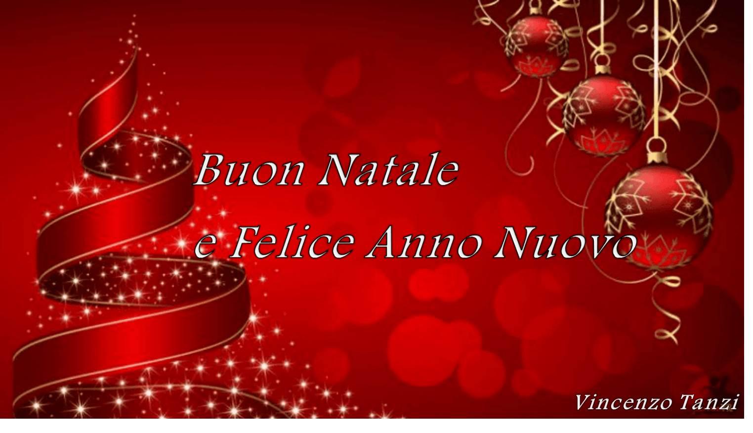 Buon Natale Anno Nuovo.Buon Natale E Felice Anno Nuovo Vincenzo Tanzi